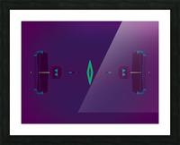 Portal  80  Picture Frame print