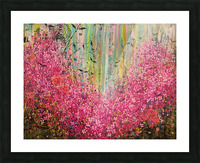Floral Cascade  Picture Frame print