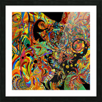 Vortex Picture Frame print