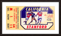 1964 California vs. Stanford Picture Frame print