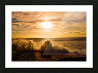 Whoosh  Picture Frame print