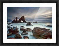 Sea Arch at Crohy Head by Derek Smyth  Picture Frame print
