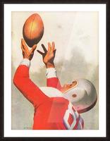 Sports Artist Lon Keller Football Art 1947 Picture Frame print