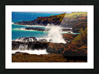 Rugged Kauai Picture Frame print