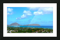 Scenic Hawaii Picture Frame print