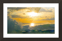 Into the Sunset Picture Frame print
