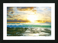 Changing of the Tides Picture Frame print