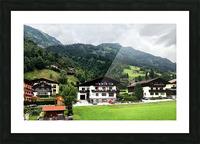 Hofgastein Dolomities Alpen Picture Frame print