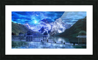 Arcturus Temple Picture Frame print