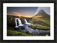 Fairy-Tale Country Picture Frame print