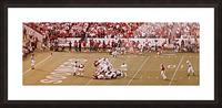 1982 Oklahoma vs. OSU Marcus Dupree Touchdown Picture Frame print