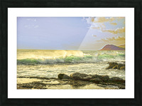 Spring Surge After the Storm Picture Frame print