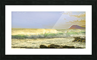 Spring Surge After the Storm Panorama Picture Frame print
