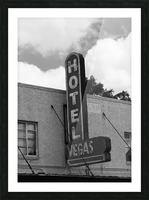 HOTEL VEGAS Picture Frame print