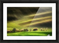 Moravian Fields Picture Frame print