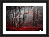 Bloody River Picture Frame print