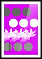 Lotus 5 Picture Frame print
