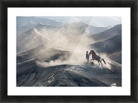 The Horseman Picture Frame print