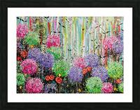 Summer Garden  Picture Frame print