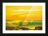 At the Sea Shore Picture Frame print