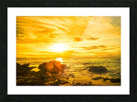 Majestic Sunset Picture Frame print