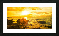 Majestic Sunset Panorama Picture Frame print