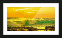 At the Sea Shore Panorama Picture Frame print