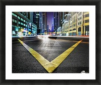 V by Robert Work  Picture Frame print