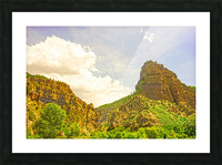 Golden Colorado Picture Frame print