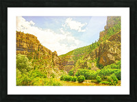 Golden Colorado 2 Picture Frame print