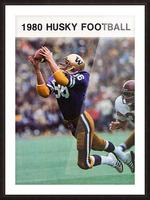 1980 Washington Huskies Football Poster Picture Frame print
