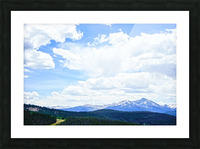 The Sawatch Range Colorado Picture Frame print