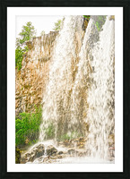 Rocky Mountain Rapids and Waterfalls 3 of 8 Picture Frame print