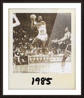 1985 Michael Jordan Polaroid Style Art Picture Frame print
