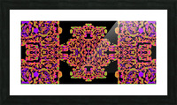 Martial Influx Picture Frame print