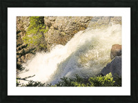 Rocky Mountain Rapids and Waterfalls 7 of 8 Picture Frame print