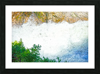 Rocky Mountain Rapids and Waterfalls 1 of 8 Picture Frame print