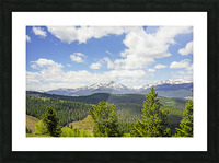 Back Country Colorado 1 of 8 Picture Frame print