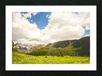Back Country Colorado 3 of 8 Picture Frame print