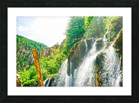 Waterfall Country Colorado 1 of 4 Picture Frame print
