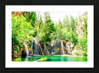 Waterfall Country Colorado 3 of 4 Picture Frame print