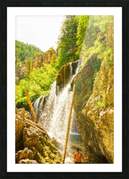 Waterfall Country Colorado 4 of 4 Picture Frame print