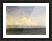 Snowy Mountains in the Pacific Northwest by Bierstadt Picture Frame print