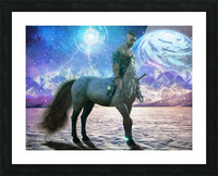 The Winter Warden Picture Frame print