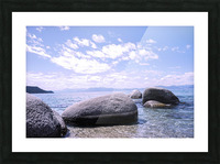 Standing Stones Picture Frame print