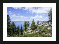 Spring at Lake Tahoe 5 of 7 Picture Frame print
