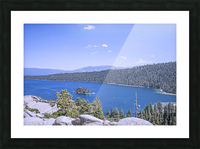 Out West 3 of 8 Picture Frame print