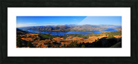 Osoyoos Panorama Picture Frame print