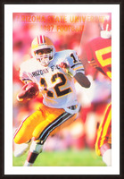 1987 Arizona State Football Poster Picture Frame print