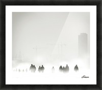 Atmosphere Picture Frame print